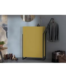 Meuble D'entré Design - Coloris Jaune Vintage