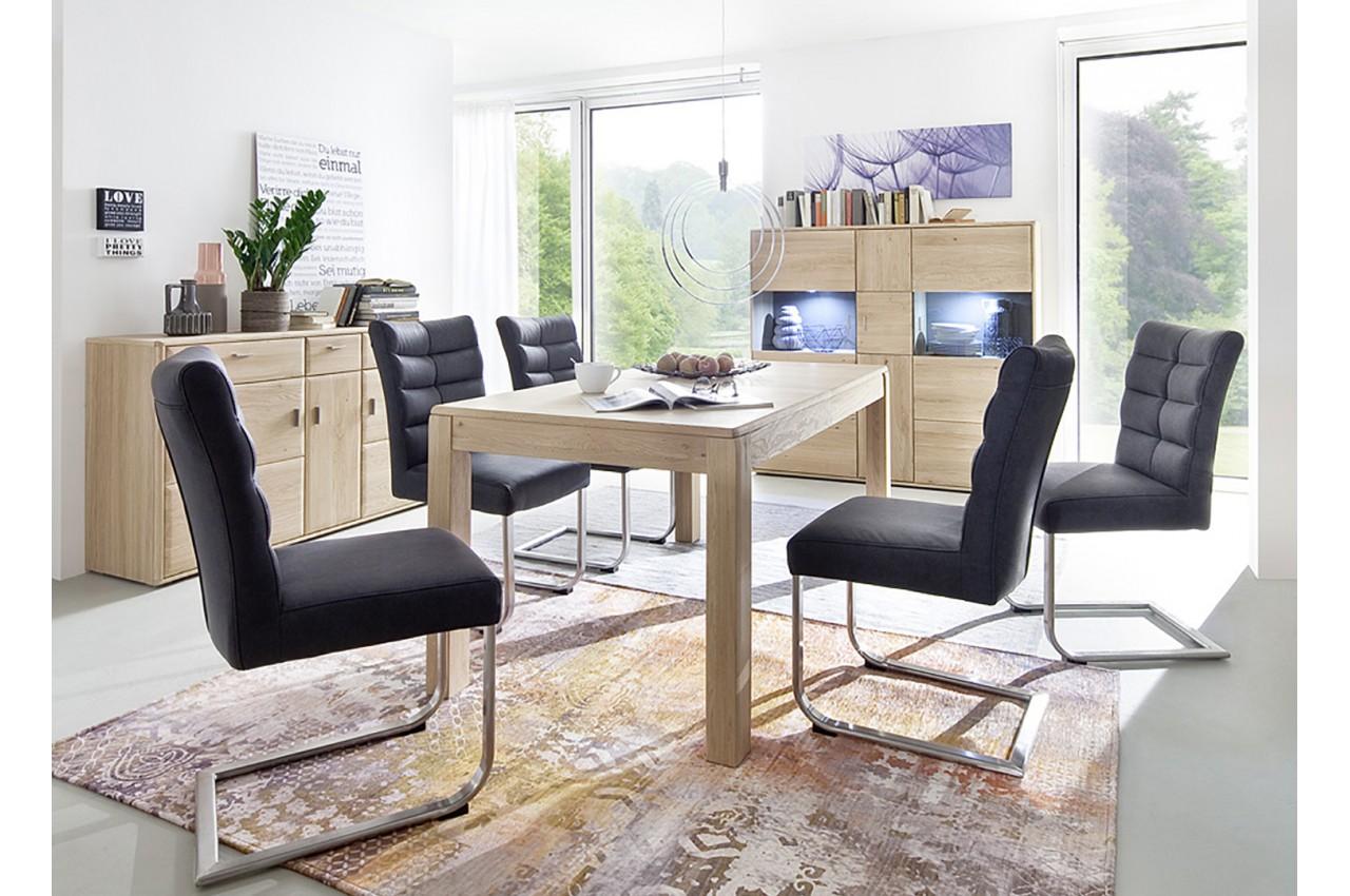 salle manger contemporaine ch ne massif pour salle manger. Black Bedroom Furniture Sets. Home Design Ideas