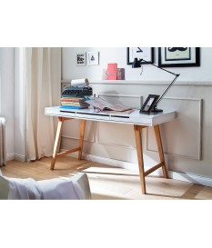 table console blanche scandinave