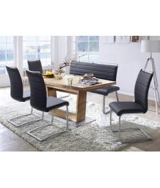 table de repas design plateau ovalisé