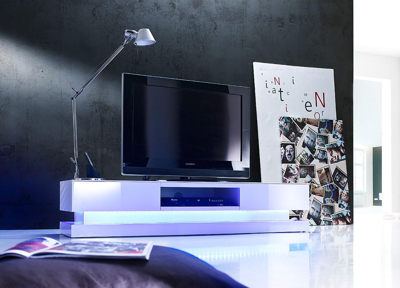 Meuble Tv Bas Design Livraison Gratuite Et Rapide Novomeuble # Meuble Hifi En Verre Rehauusseur