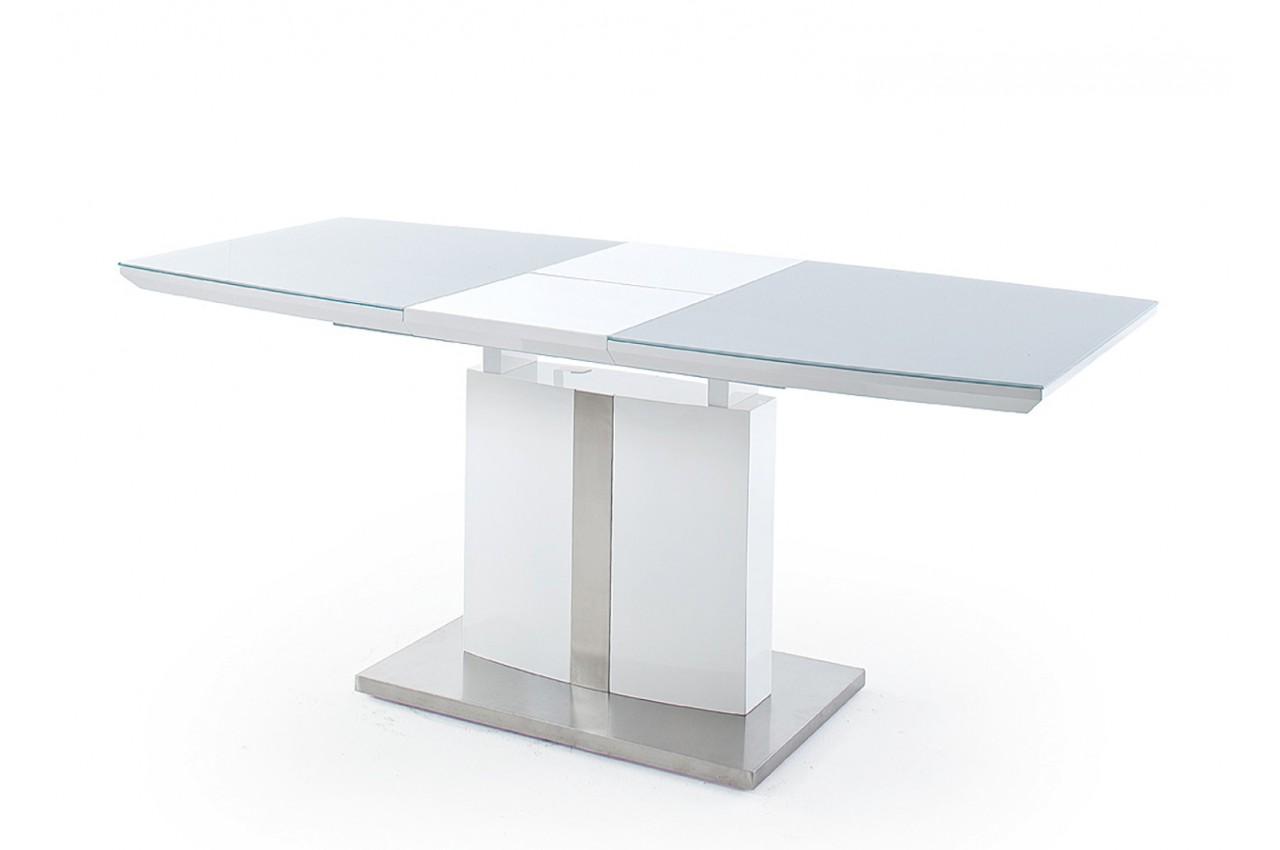 table manger extensible en verre pour salle manger. Black Bedroom Furniture Sets. Home Design Ideas