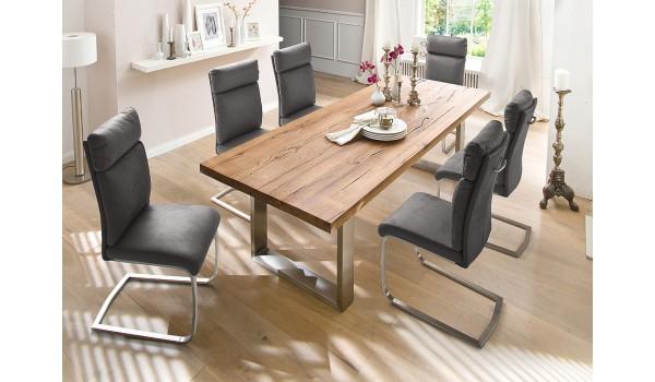 Table Salle à Manger en Bois Design