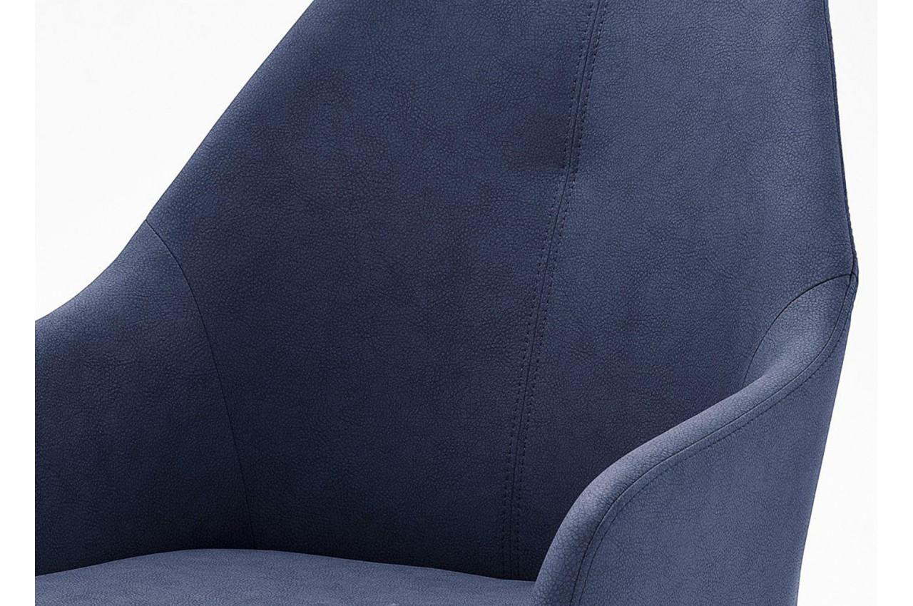 Chaises design avec accoudoirs pied inox pour salle manger - Chaise salle a manger avec accoudoir ...