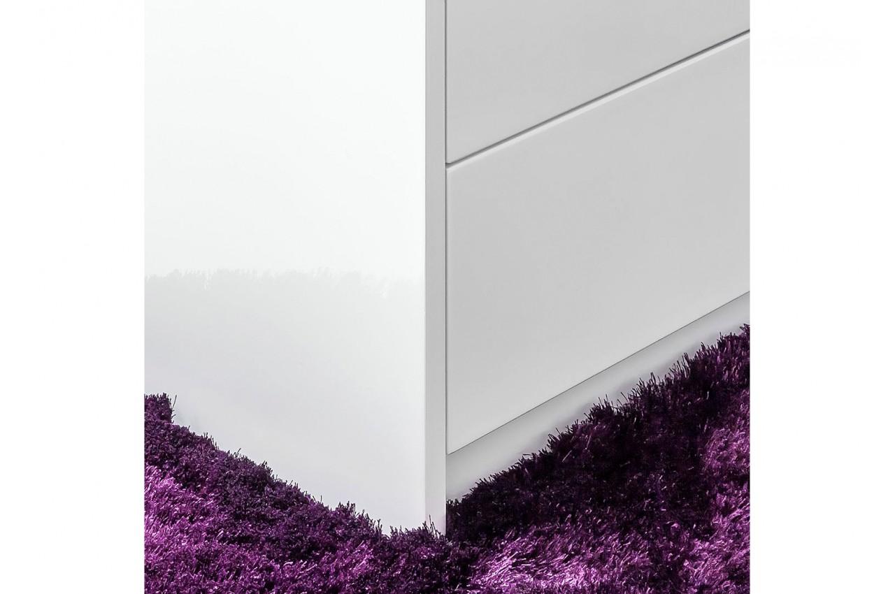 Bureau moderne blanc avec rangement novomeuble