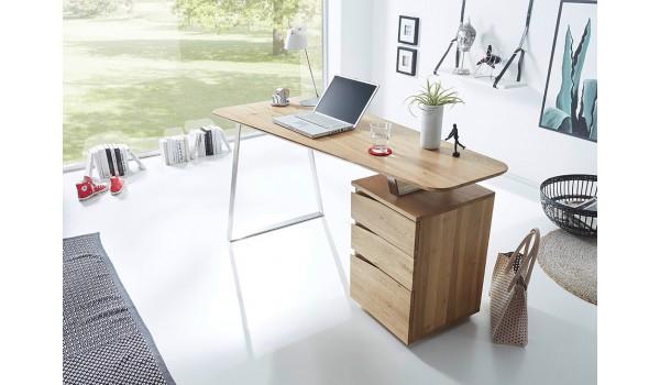Bureau d ordinateur en bois massif pour chambre enfant ado