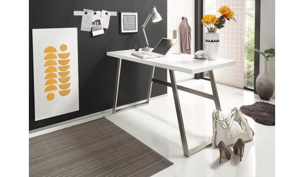 Table pour PC Portable Laqué Blanc