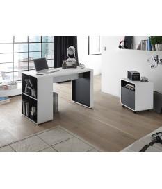 Bureau Design Blanc & Gris