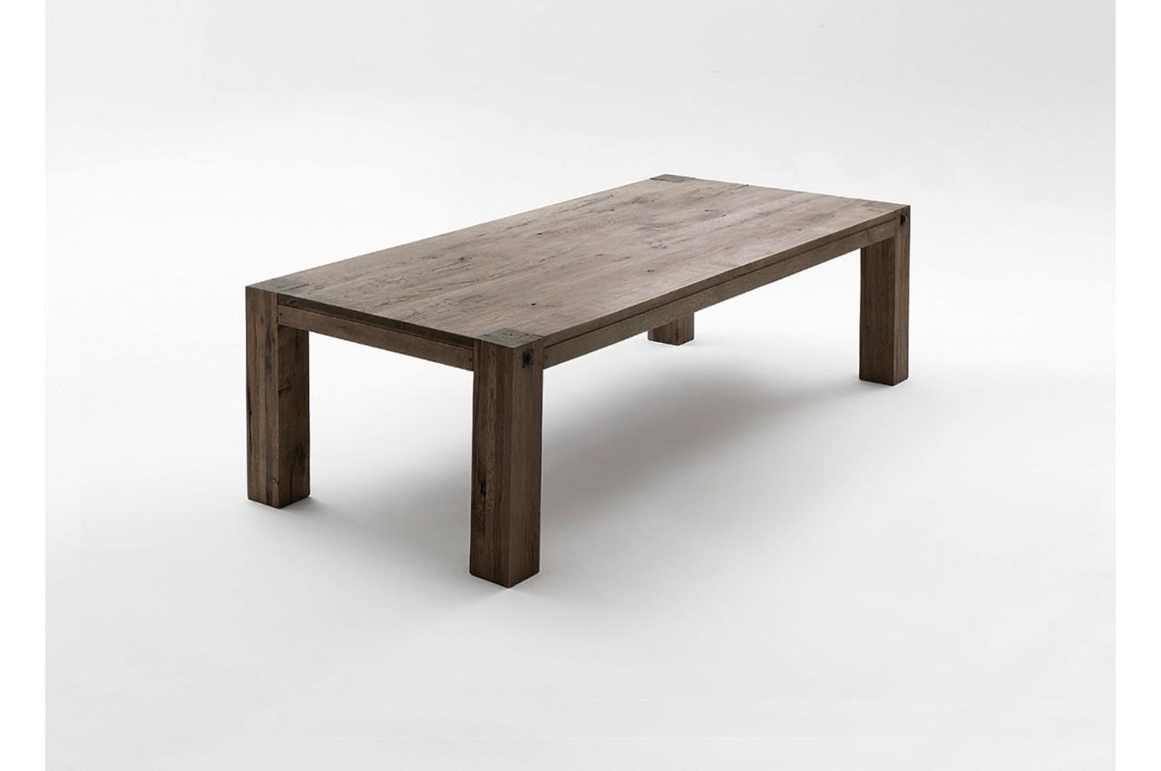 Table de Ferme Moderne Chêne Massif pour salle à manger