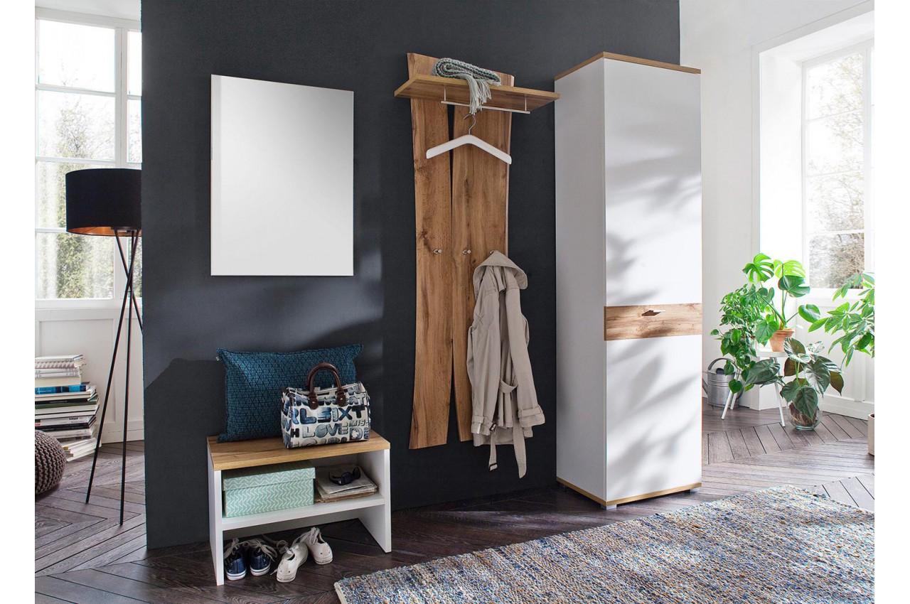 vestiaire banc et armoire d'entrée design pour ensemble chaussures