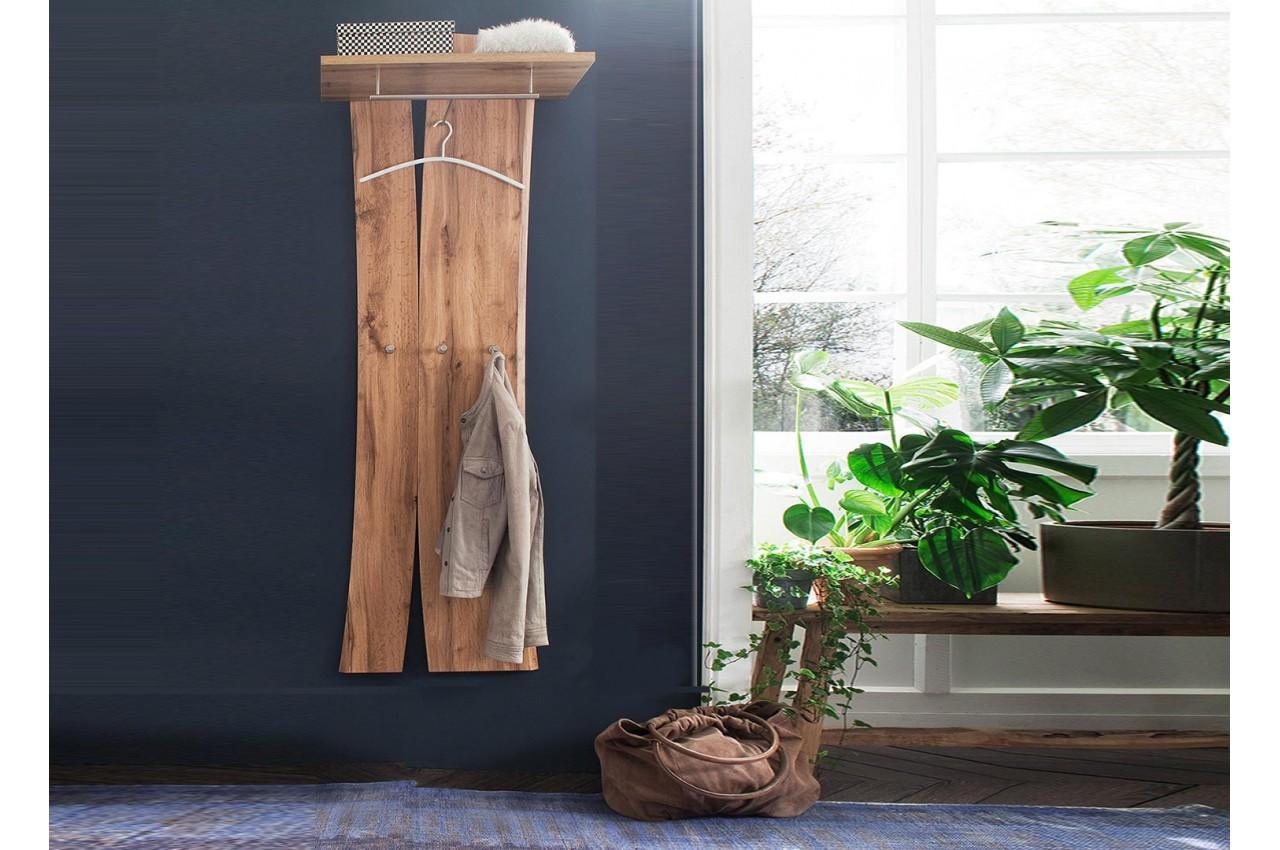 porte manteaux mural design en bois pour meuble entr e. Black Bedroom Furniture Sets. Home Design Ideas