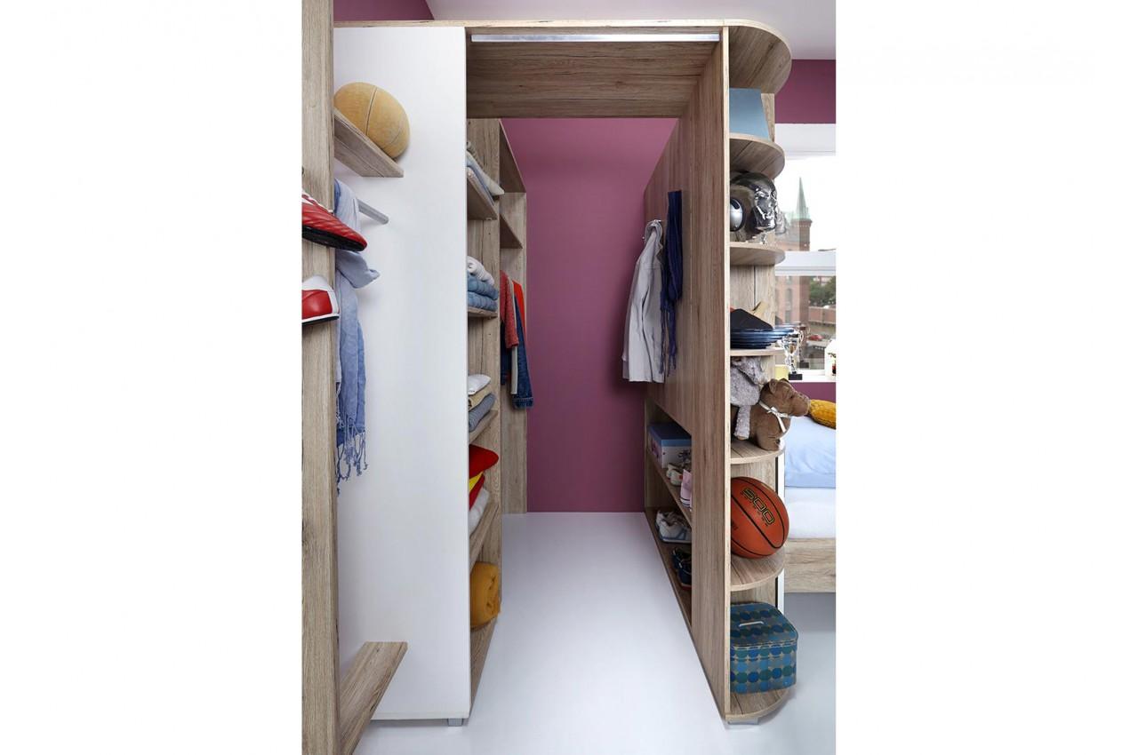 Armoire d 39 angle de chambre coucher enfant pour chambre Meuble pour chambre ado