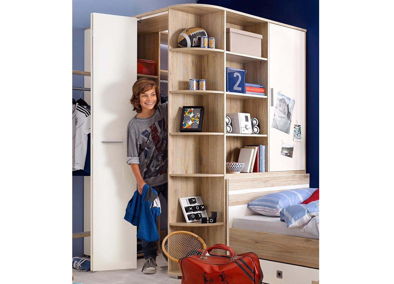 Tringle D Angle Dressing armoire d'angle de chambre à coucher enfant pour chambre