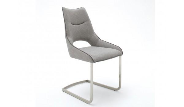 Chaise Design en Tissu - 6 Coloris