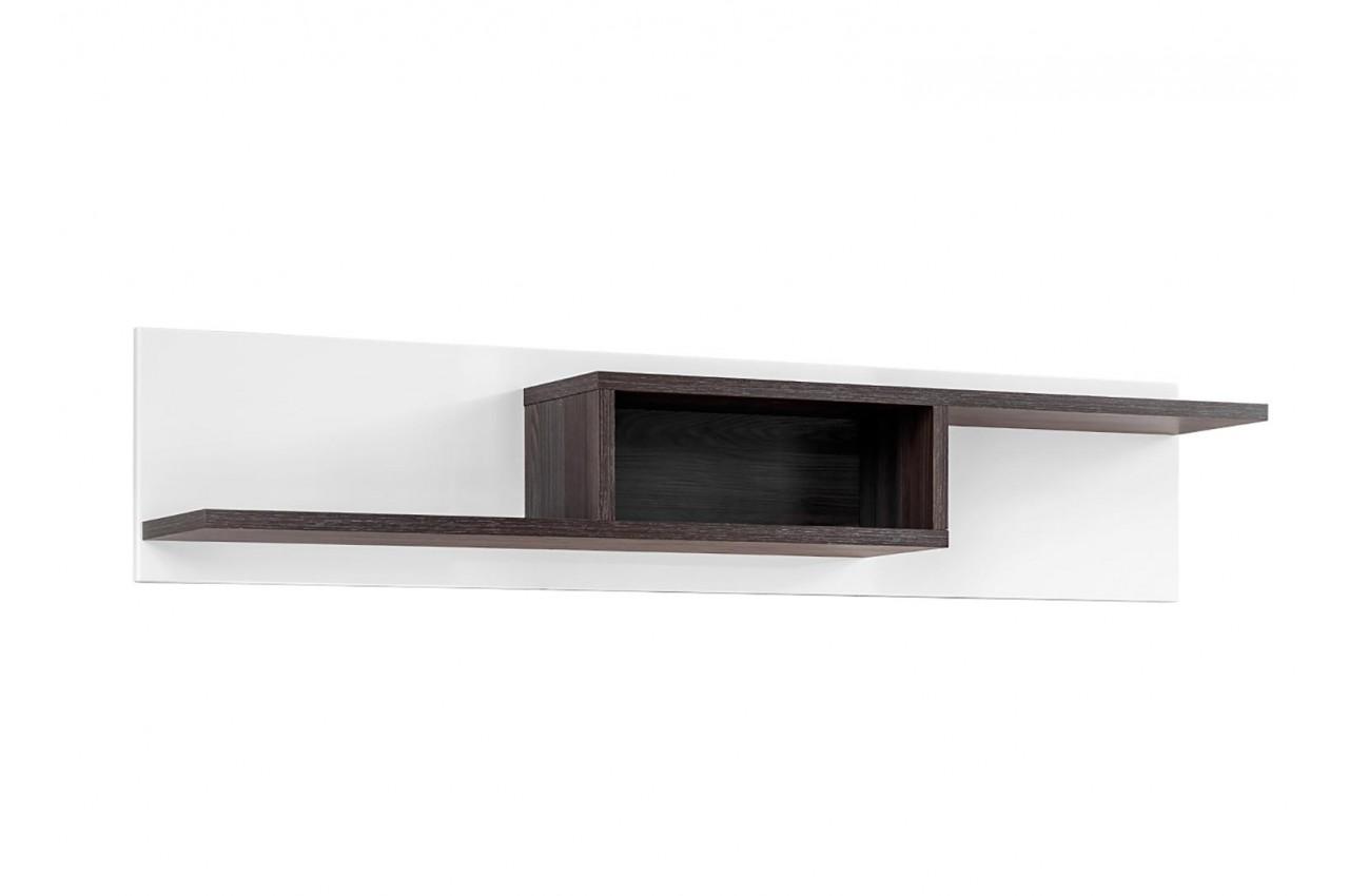 Meuble salon complet design blanc bois pour salon - Salon complet ...