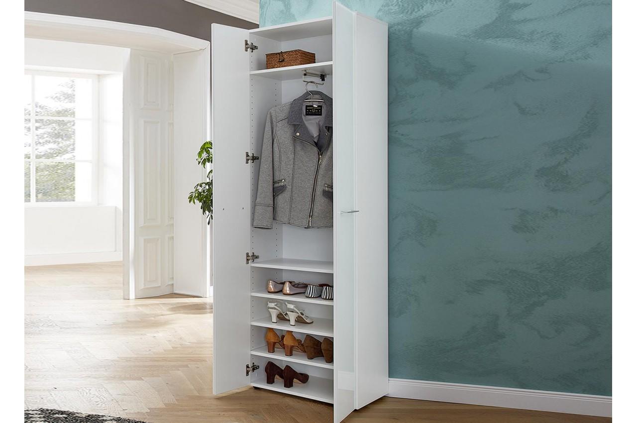 Meuble Chaussure Pour Placard armoire blanche - dressing & range chaussures pour meuble entrée