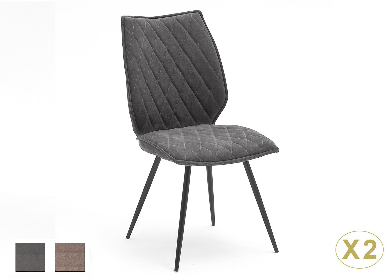 Chaise Design En Tissu Pas Cher Tissu Gris Ou Sable Pour