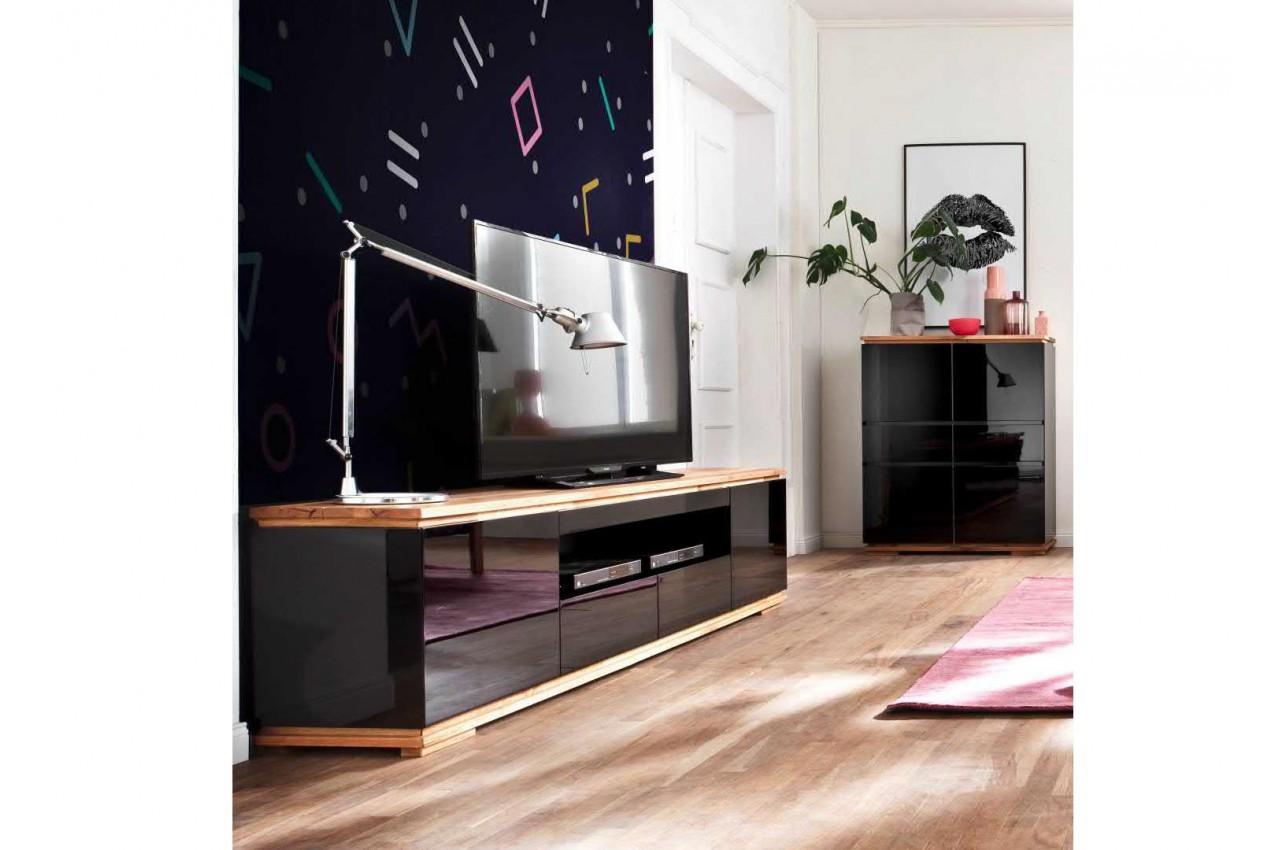 Beautiful Meuble Salon Noir Et Bois