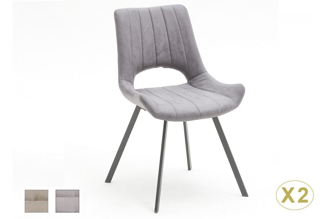 Chaise Design En Tissu Pas Cher