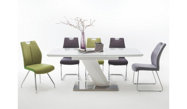 Table Blanche Salle A Manger.Table Blanche Design