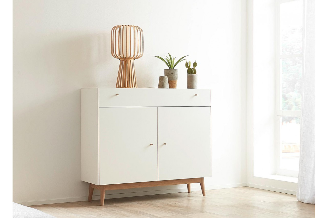 Design Meuble Salon Blanc Scandinave