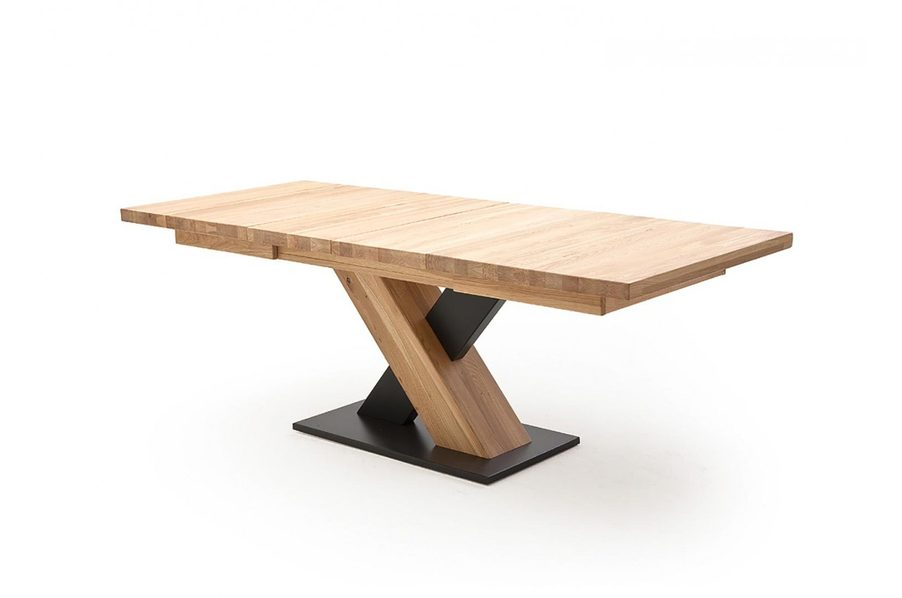 Table manger bois massif extensible 12 personnes pour salle manger - Table salle a manger bois massif ...