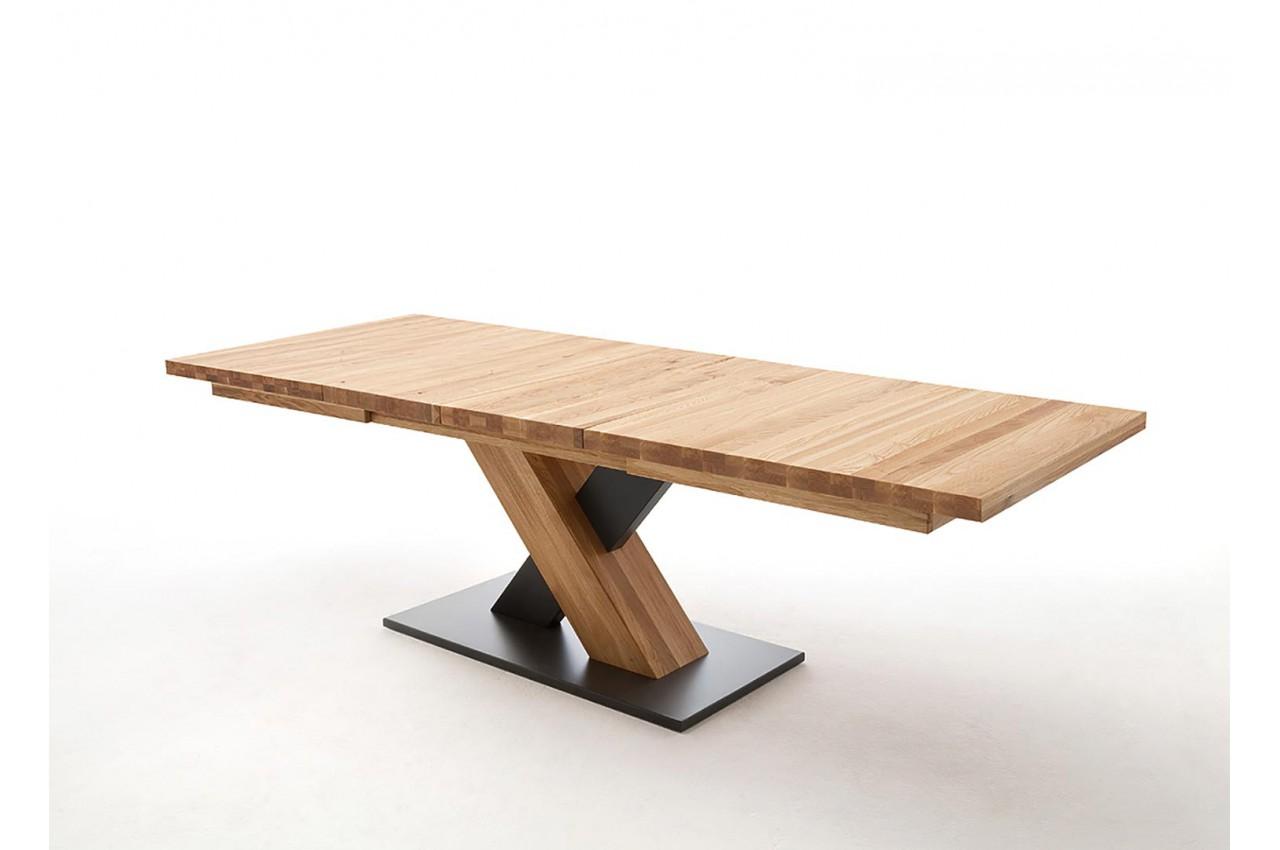 Table à manger bois massif extensible  + 12 Personnes pour salle à ... a996ea32fab4