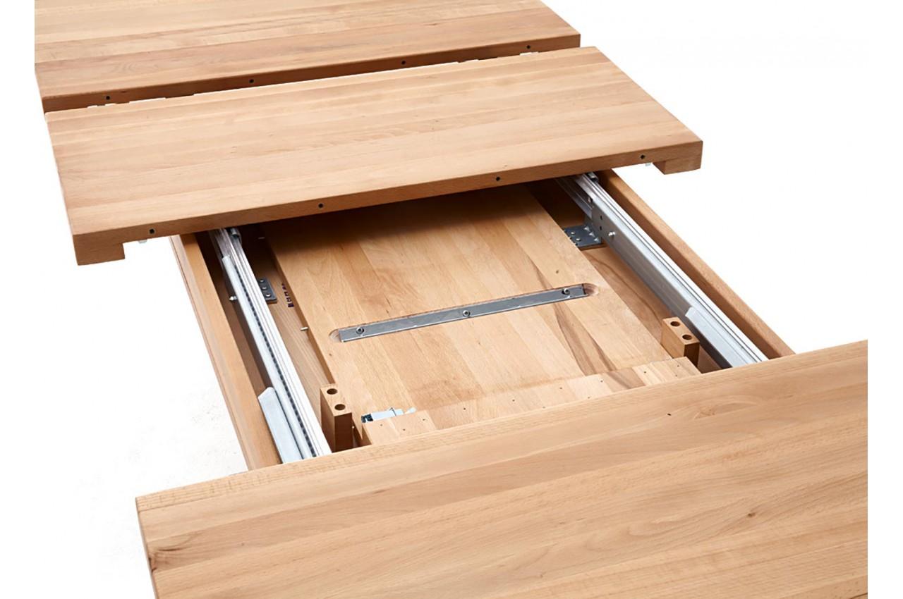 Table Repas 2 Personnes table à manger bois massif extensible /+ 12 personnes pour