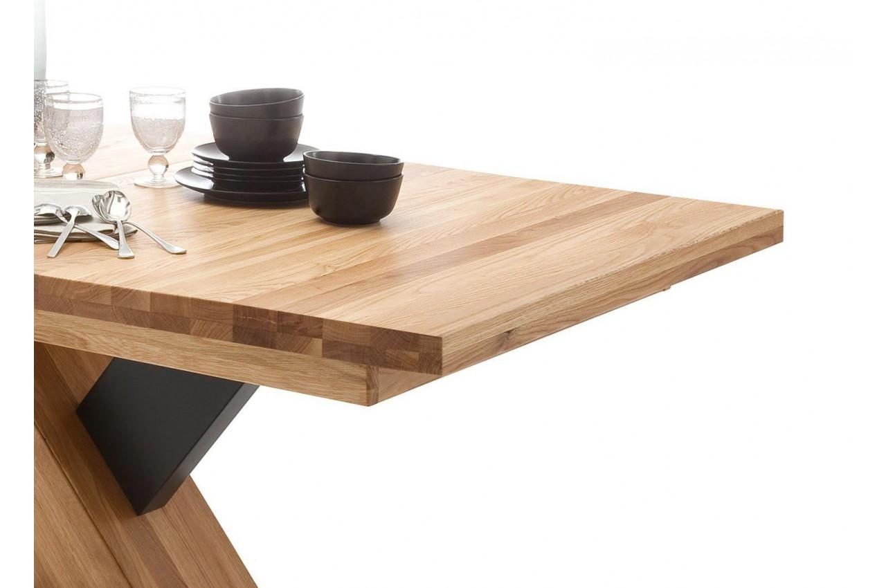 table manger bois massif extensible 12 personnes pour. Black Bedroom Furniture Sets. Home Design Ideas