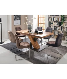 Table à manger bois massif extensible/+ 12 Personnes