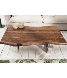 Table basse design 110 cm / Bois massif