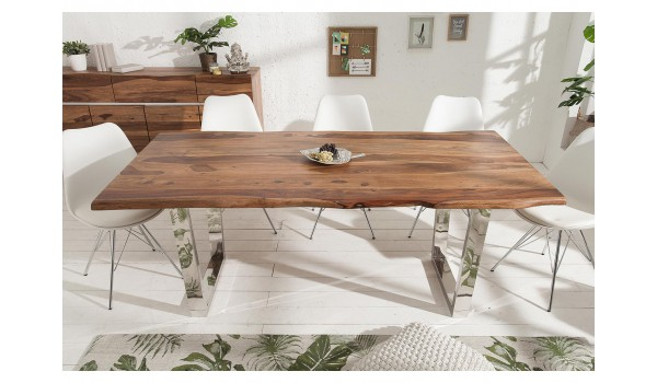 Table de salle à manger design / Bois massif