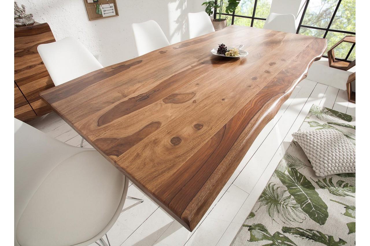 table de salle manger design bois massif pour salle. Black Bedroom Furniture Sets. Home Design Ideas