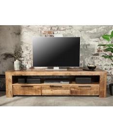 Meuble TV en bois massif / 170 cm