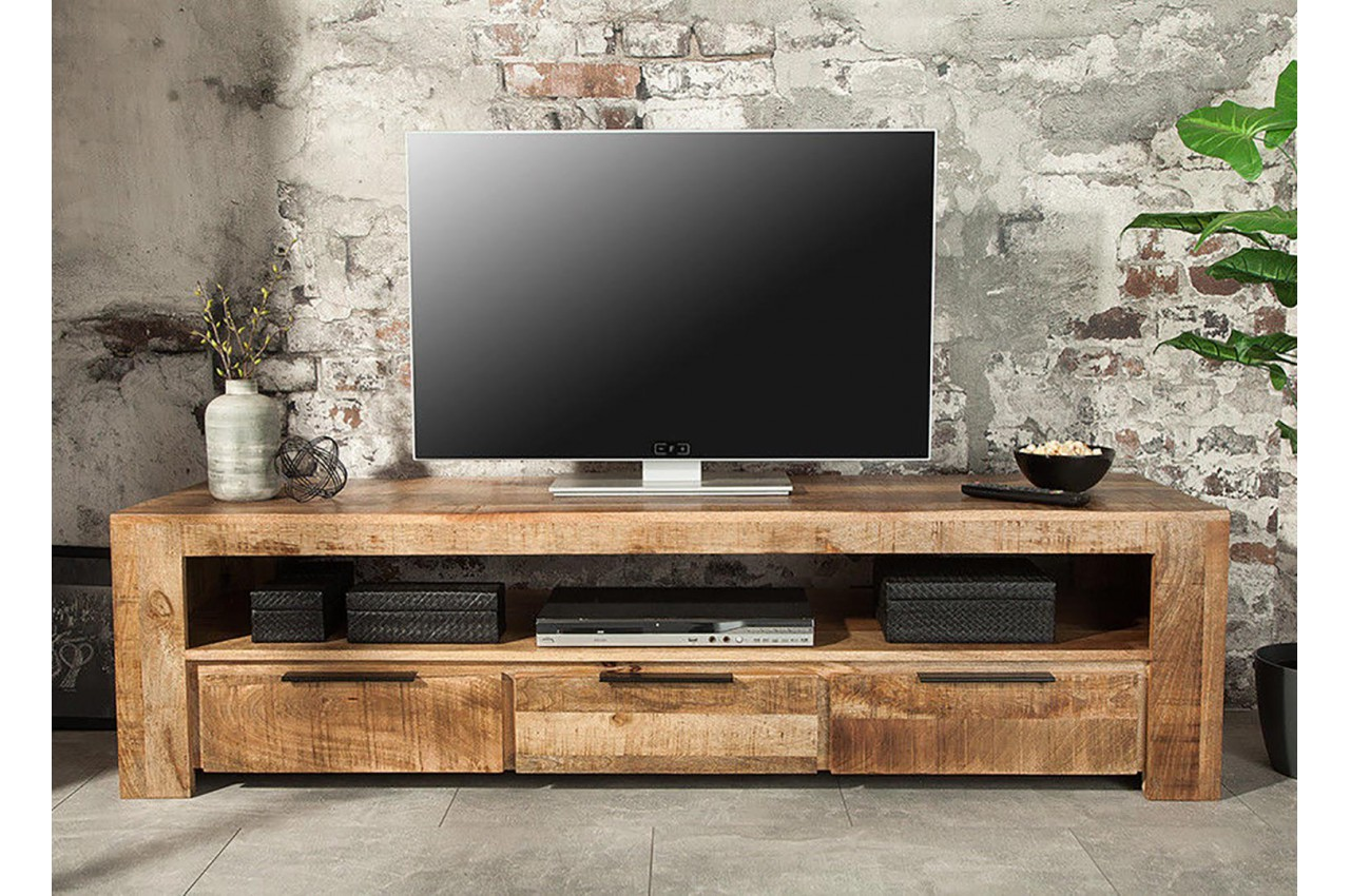 Beautiful Meuble Tv Salon En Bois