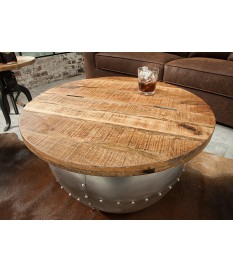 Table basse ronde originale