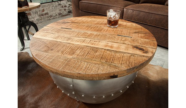 Table Basse Ronde Originale Pour Salon