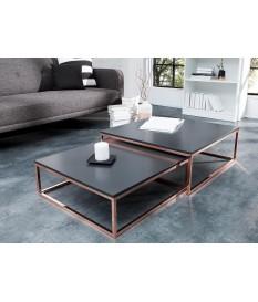 Tables basses carrées emboîtables
