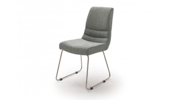 Lot de chaise capitonnée en tissu pas cher
