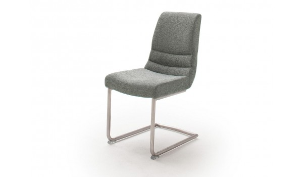Lot de chaise capitonnée en tissu avec poignée pas cher