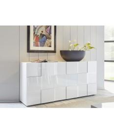 Buffet blanc laqué design