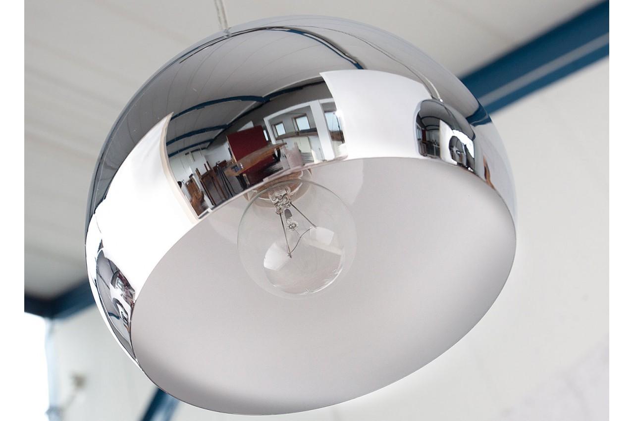 Boules Lampe À Chromées Déco Pour Suspension 3 EIW29YDH