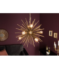 Luminaire design doré Ø 50 cm