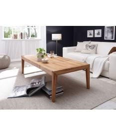 Table basse extensible en bois massif