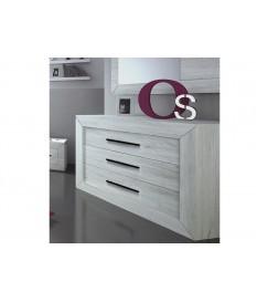 Commode de chambre moderne 3 tiroirs