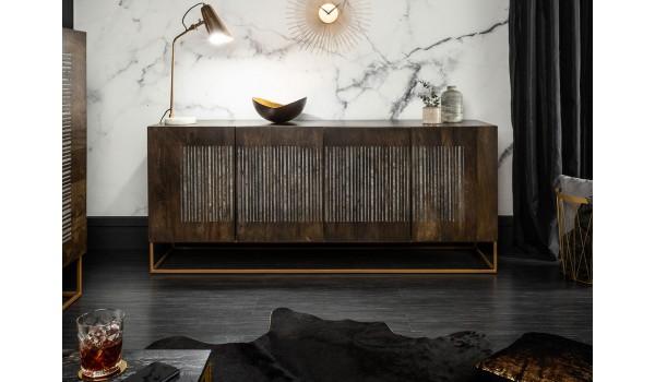 Buffet / Bois et métal / Type contemporain