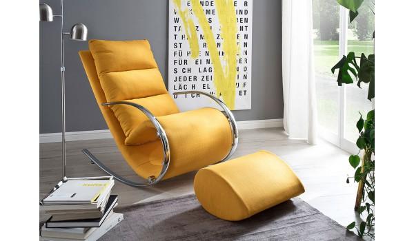 Relax Fauteuil Design.Fauteuil Relax Design Avec Repose Pieds Pour Salle A Manger