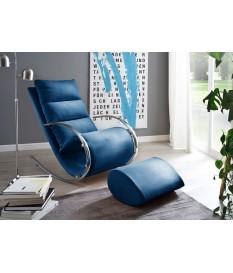 Fauteuil de relaxation design avec repose pieds