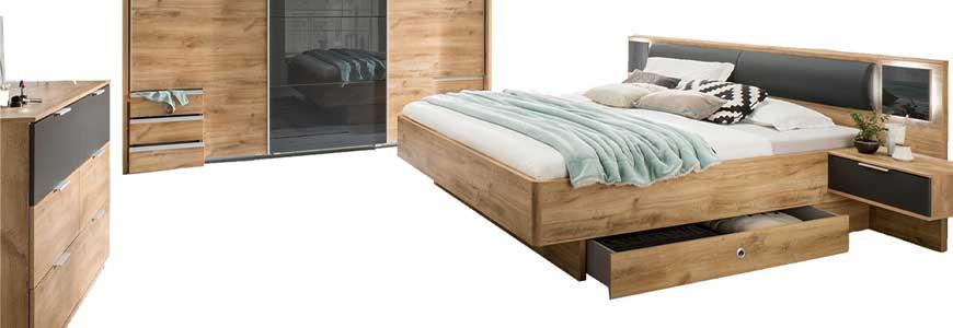 Chambre adultes complte free lit adulte x cm black nova - Mobilier chambre adulte complete design ...