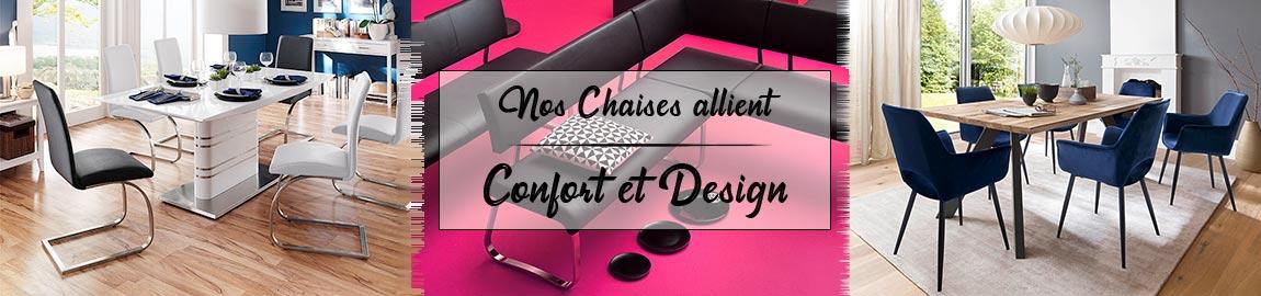 Découvrez notre collection de chaises de salle à manger